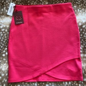 Sunday Best - Fuchsia Primrose Skirt